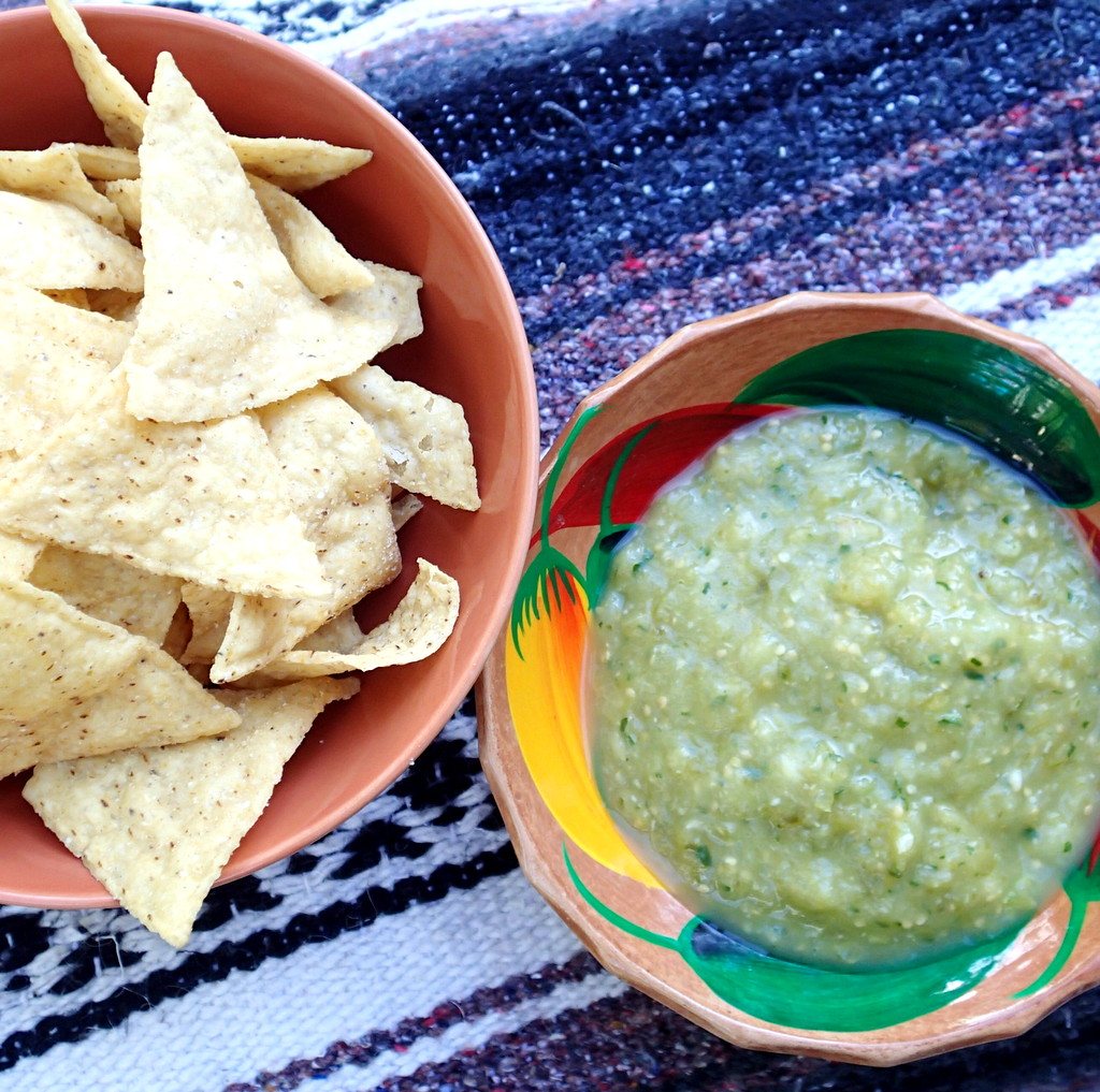 Green Salsa ~ Dirty Dish Club