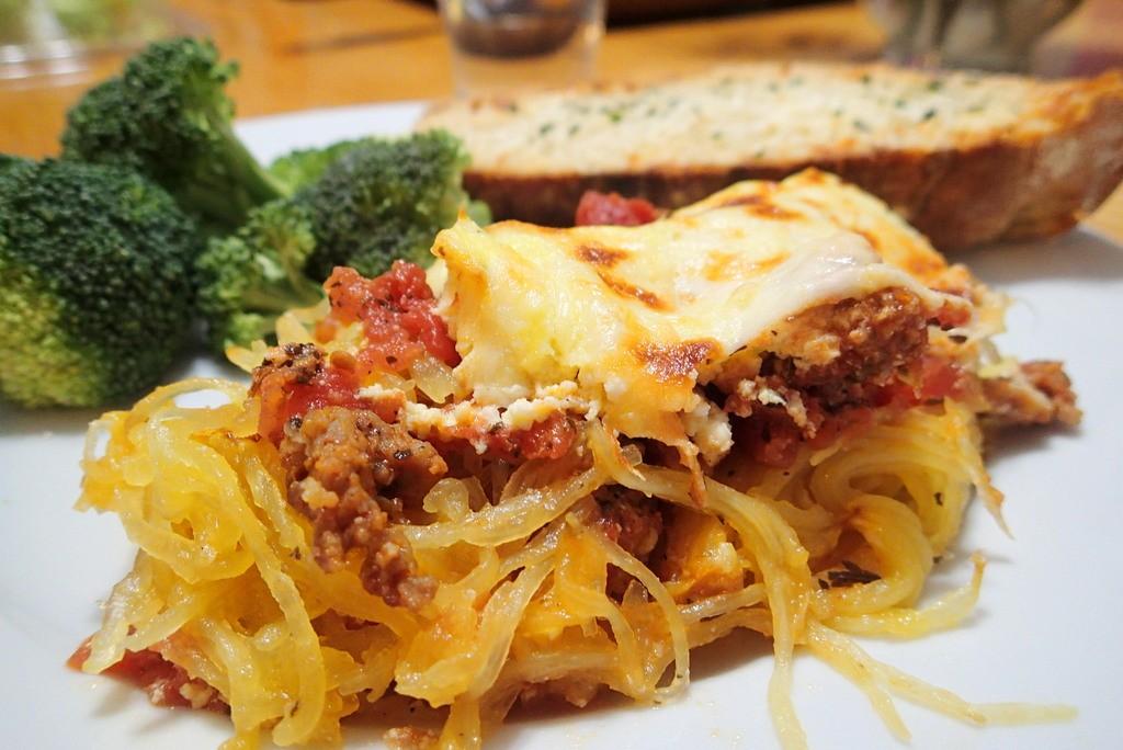 Italian Style Spaghetti Squash from dirtydishclub.com
