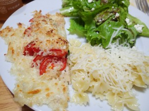 Fastest Chicken Parm - A Dirty Dish Club quick dinner favorite. From Mark Bittman's How to Cook Everything Fast.